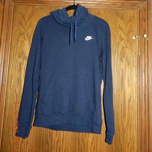 women's nike navy blue sweatshirt